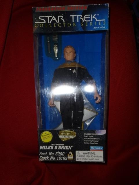 Star Trek the Next Generation Jem'Hadar/PICARD/Chief O'Brien/DATA action figures