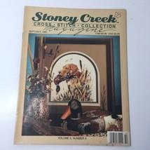 Stoney Creek Collection Cross Stitch Magazine Nov/Dec 1991 - $12.59