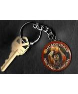 Michael Jordan Free Throw Keychain Key Chain HOF Chicago Bulls - $6.78