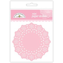 "MINI Paper Doilies.  75 Pack. 3""  Choose Color. Doodlebug Designs image 4"