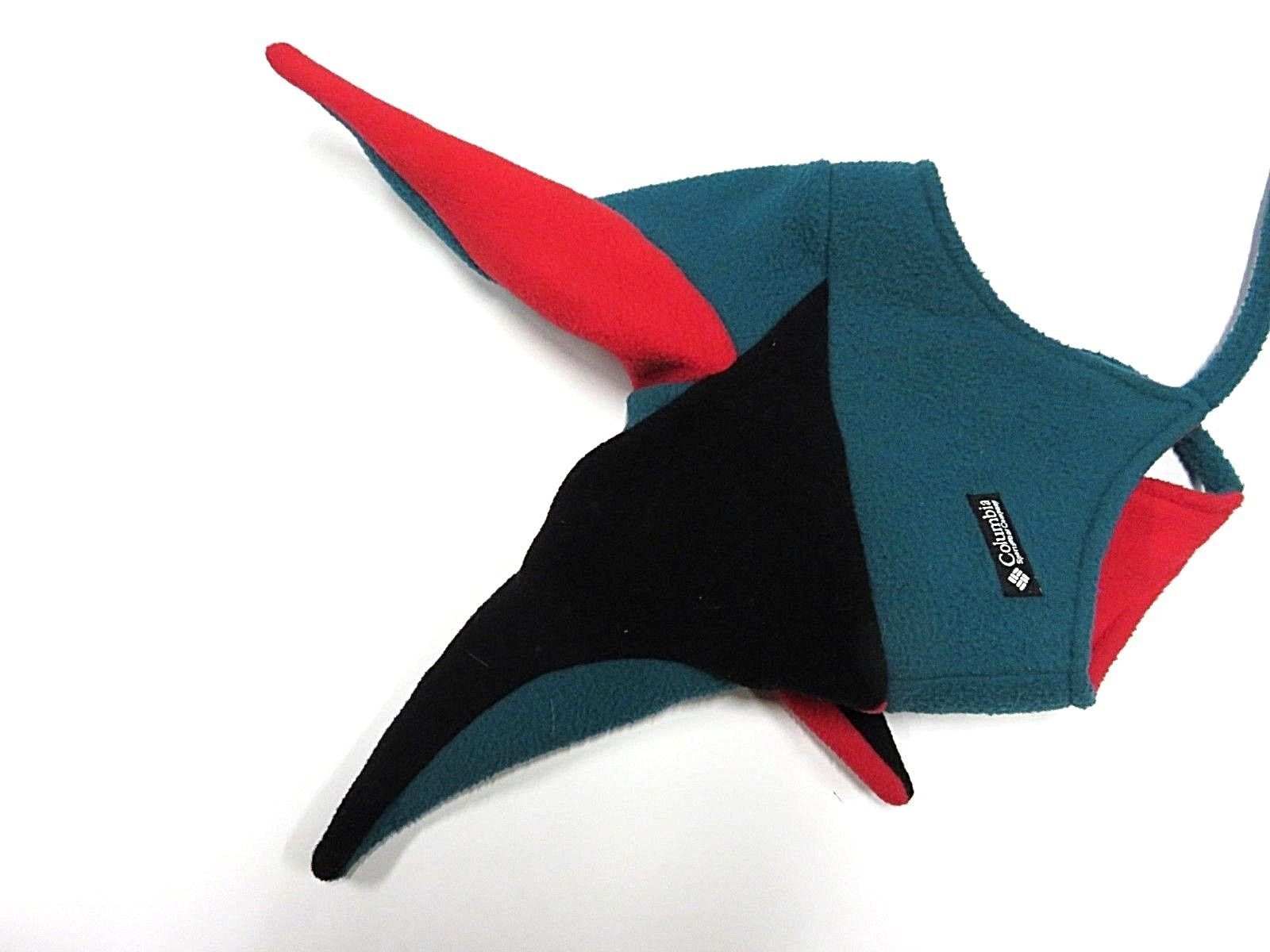 90s Vtg Columbia Sportswear Multi-Colored Winter Hat Adult Size L/XL Made in USA