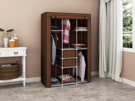 Portable Wardrobe Closet Storage Organizer w/ Dust Proof Non-Woven Fabri... - $1.026,99 MXN