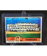 1979 Topps #1 New York Yankees Team Card VG-EX *FBGCOLLECTIBLES* - $7.70