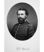 FREDERICK WEAD New York Civil War Colonel - SUPERB Portrait 1877 Antique... - $13.86