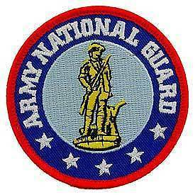 Primary image for ARMY NATIONAL GUARD EMBROIDERED PATCH