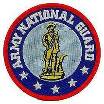ARMY NATIONAL GUARD EMBROIDERED PATCH - $13.53