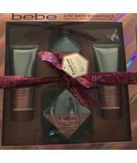 bebe Hibiscus Ylang Ylang 4 piece bath essentials set Body Wash Bubble Bath - $79.19