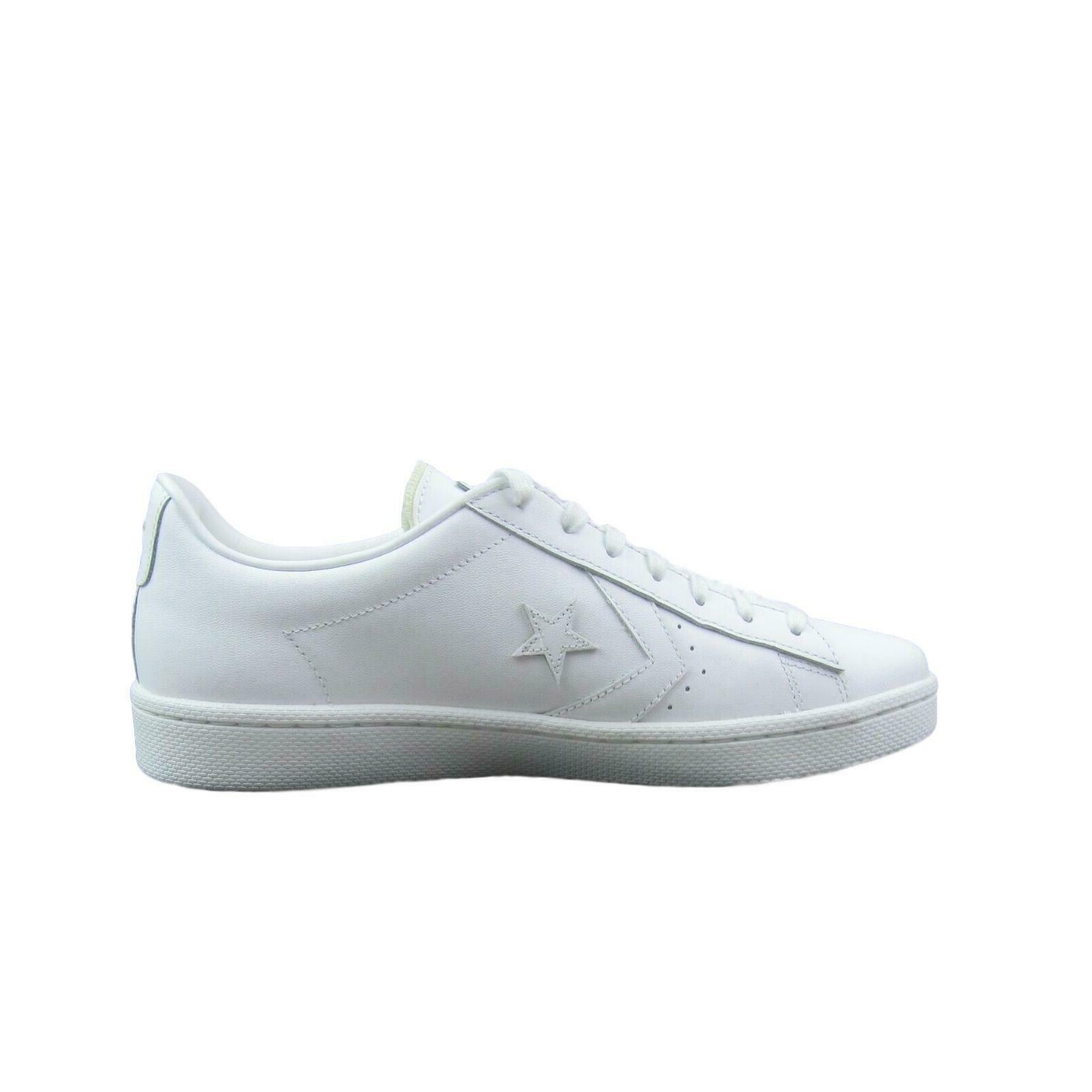 Converse Pro Leather Ox Low Triple White Shoes Size 11 Mens 155319C New