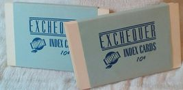 Vintage Office Collection. Hole Punch, Index Cards Typewriter Ribbon Tin. G-186 image 3