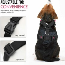 Pawaboo Dog Safety Vest Harness with Adjustable Strap and Buckle Clip, Size XL image 2