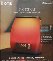 IHOME iZBT10 Zenergy Indoor Bluetooth Portable Sleep Therapy Speaker & F... - $124.49 CAD