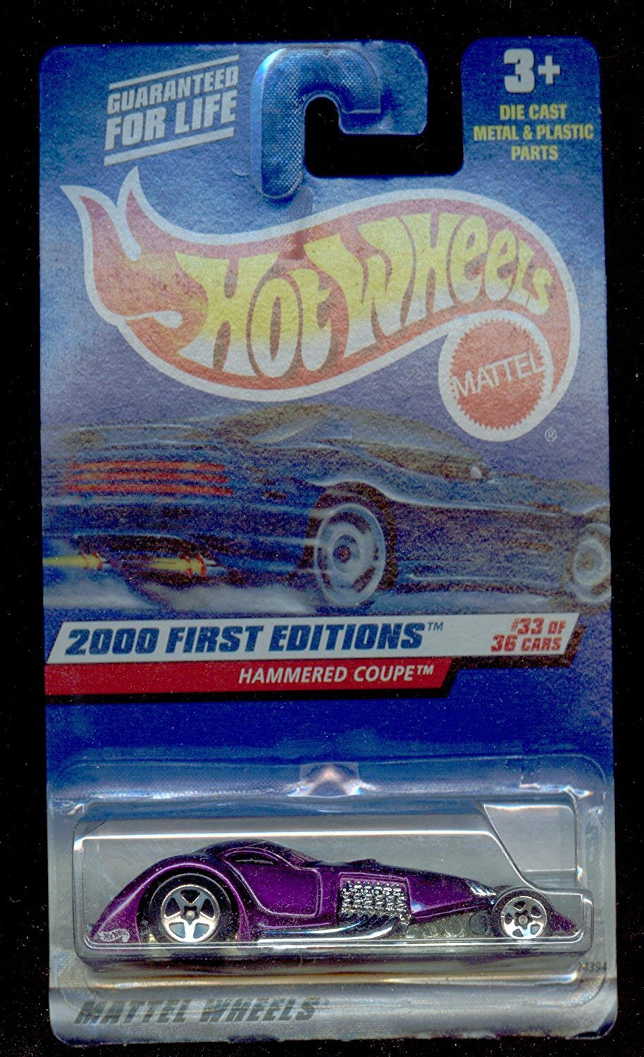 Primary image for Hot Wheels 2000-93 First Editions  Hammered Coupe 1:64 Scale