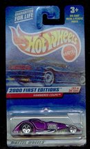Hot Wheels 2000-93 First Editions  Hammered Coupe 1:64 Scale - $6.00