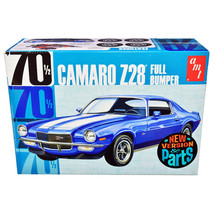 Skill 2 Model Kit 1970 1/2 Chevrolet Camaro Z28 Full Bumper 1/25 Scale M... - $56.80