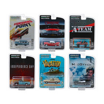 New Hollywood Series Release 24, Set of 6 Cars 1/64 Diecast Models by Gr... - $59.14