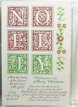 Darcie's Noel Unmounted Rubber Stamp Set