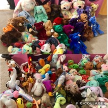 Ty 138  Lot MWMT Beanie Babies, Buddies, Classics, 55 Bears None Ever Displayed - $158.40