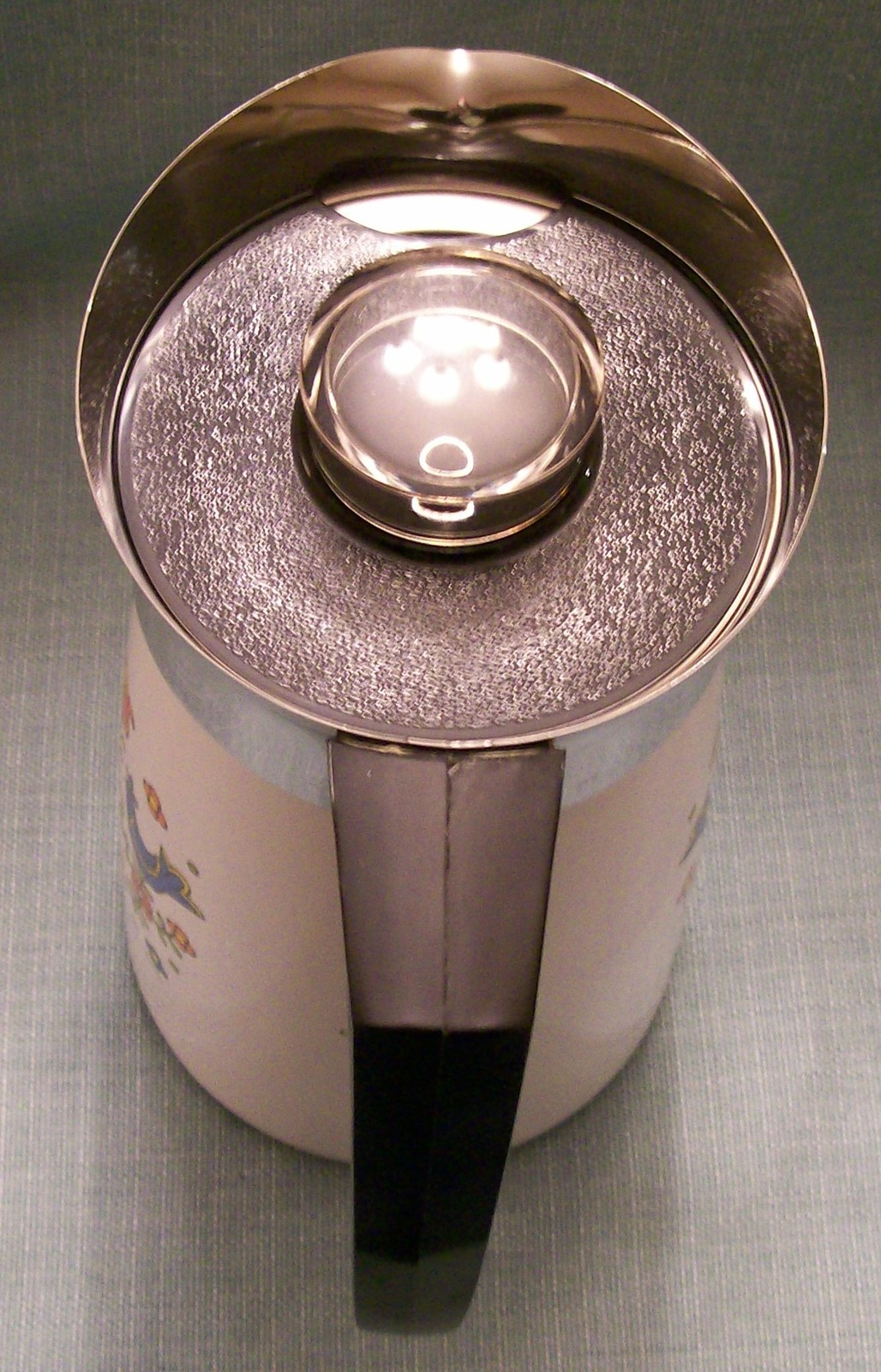 Vtg Corning COUNTRY FESTIVAL Friendship Stove Top 10 Cup Percolator P149 Birds image 13