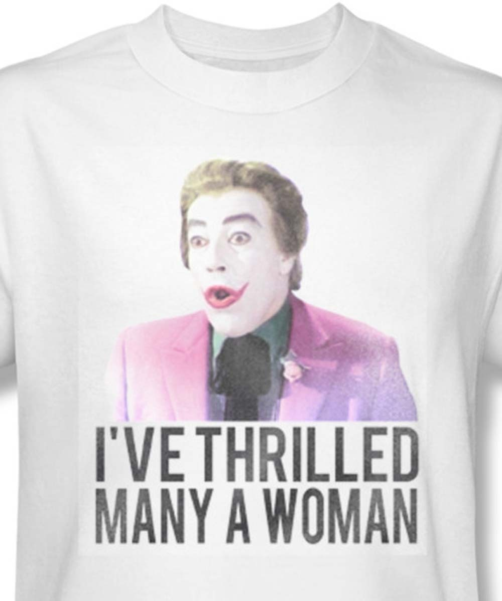 Bmt113 at the joker i ve thrilled many woman for sale online white graphic tee