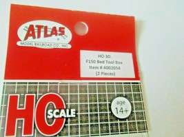 Atlas # 4002054 F150 Bed Tool Box 2 Pieces 3D Printed Accessories HO Scale image 2