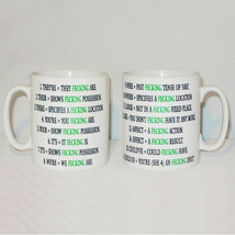 Irish Grammar Rules Mug Can Personalise Funny Ireland Rude Fecking Engli... - $9.23