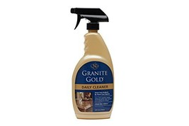 Granite Gold Daily Cleaner Spray Streak-Free Cleaning for Granite, Marble, Trave