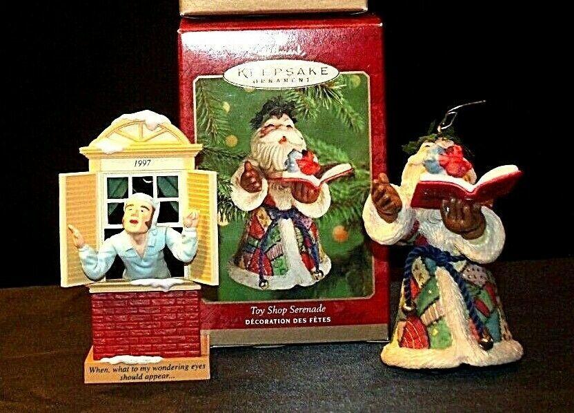 Hallmark Keepsake Ornaments Away to the Window & Toy Shop Serenade AA-191792A C