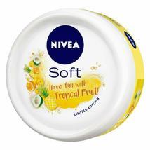 NIVEA Soft Light Moisturizer Cream Tropical Fruit With Vitamin E & Jojoba Oil image 5