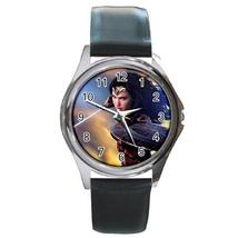 Round Metal Unisex Watch Highest Quality Wonder Woman - $23.49