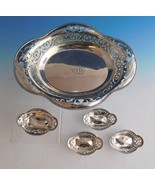Tiffany & Co. Sterling Silver Nut Set 5pc Bowl and Nut Cups (#2229) - $845.60