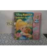 Disney Princess - Cinderella's Tea Party - Storybook & Playset - NEW - $9.99