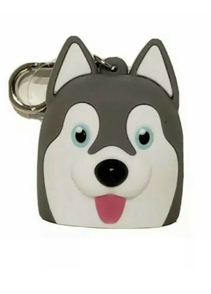 Bath and Body Works Husky Dog Pocket Gel Holder New HTF - $13.75