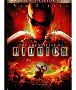 DVD The Cronicles of Riddick - $5.50