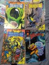 Dreadstar (Vol 2) #44/45/48 (vol 3) #1, (1989,1st comics) (1994, Malibu)... - $9.90