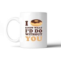 I Doughnut Know Cute Graphic Coffee Mug Funny Gift Ideas For Couple - €13,18 EUR