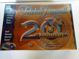 Last Call Trivial Pursuit 20th Anniversary Edition Sealed - $12.86