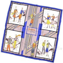 Hermes Scarf Carre 90 Aux Sports d Hiver Winter Sport Silk Authentic 461... - $299.93