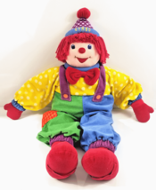 """Gymboree Dance With Me Gymbo The Clown Large 36"""" Stuffed Plush Hand Feet Straps - $32.95"""