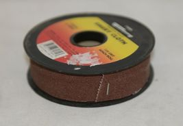 Forney 71804 Emery Cloth 120 Grit Bench Roll 1 Inch Wide Ten Yards Long image 3