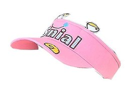Children Sun Protection Hat Lovely Summer Cap Without Top 2-4 Years(Pink)