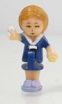 1993  Vintage Figure Polly Pocket Dolls Schoolhouse - Ms. Lila Bluebird Toys - $7.50
