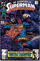 The Adventures of Superman Comic Book #454 DC Comics 1989 FINE+ UNREAD - $1.75