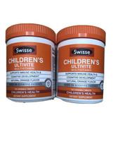 2 Swisse Childrens Ultivite Multivitamin Natural Orange Flavor 240 Tablets Total - $19.79
