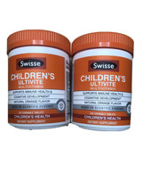 2 Swisse Childrens Ultivite Multivitamin Natural Orange Flavor 240 Table... - $19.79