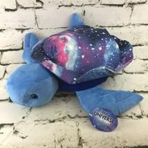 "Fiesta Our Universe Galaxy Sea Turtle Plush 17"" Blue Stuffed Animal Soft... - $24.74"