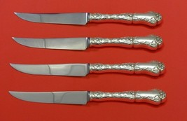 Poppy by Gorham Sterling Silver Steak Knife Set 4pc HHWS  Custom Made 8 ... - $332.10