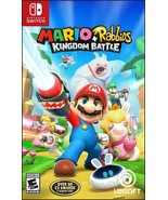 Mario + Rabbids Kingdom Battle Nintendo Switch 2017 Brand New Sealed Rat... - $26.99