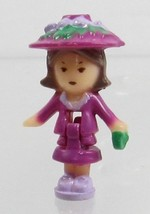 1990 Vintage Lot Polly Pocket Doll Fifi's Parisian Apartment - Fifi Blue... - $7.50