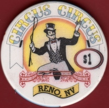 $1 Casino Chip. Circus Circus, Reno, NV. I78. - $4.29