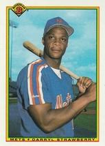 1990 Bowman #141 Darryl Strawberry - $0.50